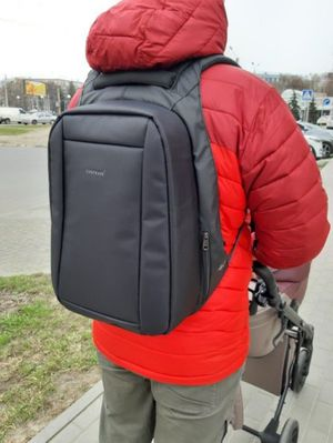 Voyager backpacker laptop backpack with USB charging cord for Sale in Austin, TX