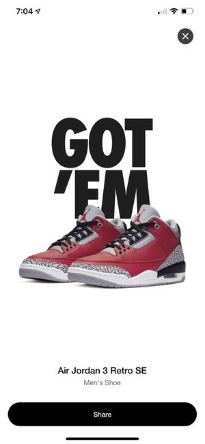 Air Jordan 3 retro for Sale in Queens, NY