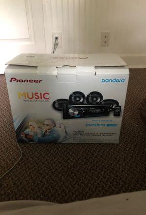 Pioneer 4 Speaker car audio system for Sale in Edwardsville, IL