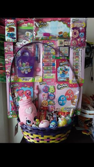 SHOPKINS EASTER BASKET $30!!! for Sale in South Gate, CA