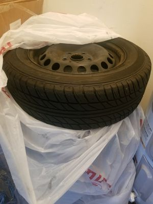 Tires 195 65 R15 / Rims 5x112/ VW BMW BENZ for Sale in Altamonte Springs, FL