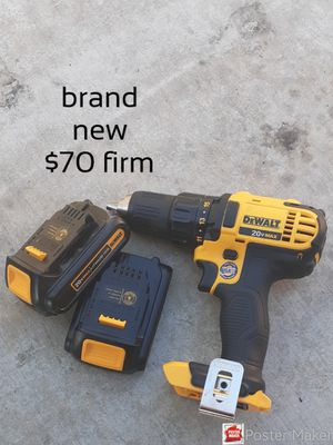 New 20 dewalt + 2 batteries for Sale in Stockton, CA