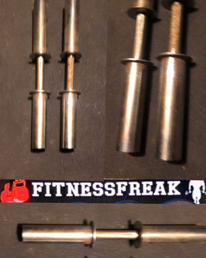 Pair Of Olympic Dumbbell Bars for Sale in El Cajon, CA