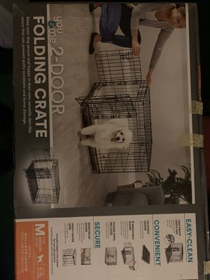 Medium size dog crate for Sale in La Mesa, CA