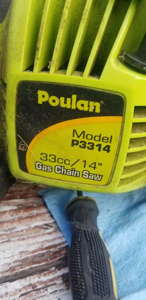 Poulan chain saw P3314 for Sale in Columbus, OH