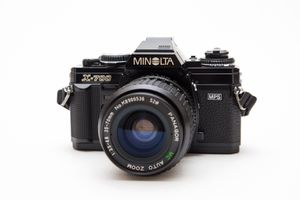 Minolta X-700 35mm SLR Film Camera + Lens! for Sale in Chula Vista, CA
