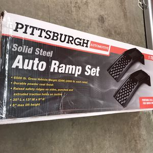 Steel Auto Ramp - New in box never used. for Sale in Winston-Salem, NC