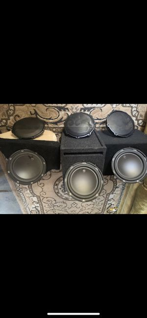 3 10 JL audio casi buenas for Sale in San Jose, CA