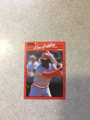 Ken Griffey Sr Baseball Card for Sale in Montrose, PA