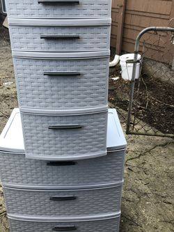 Sterilite Plastic Drawers for Sale in Portland,  OR