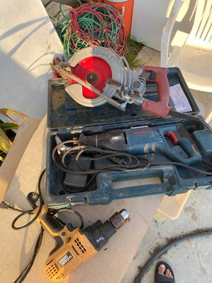 Power tools skill saw power saw and power drill for Sale in Bakersfield, CA