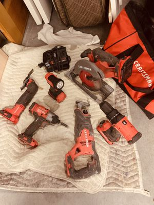 Craftsman multitool & frill set for Sale in Gibsonton, FL