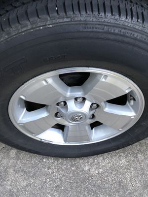 2015 Toyota Tacoma TRD rims 300.00 for Sale in Chesapeake, VA