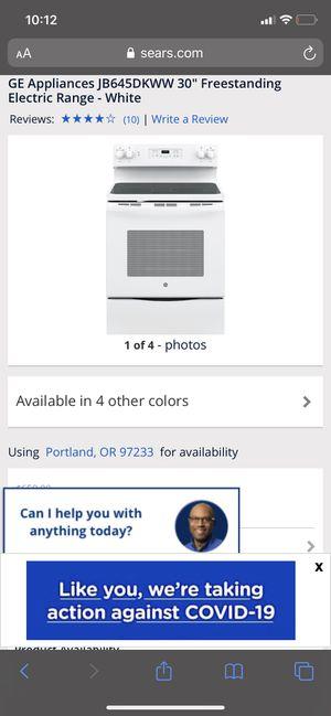 Ge range for Sale in Portland, OR