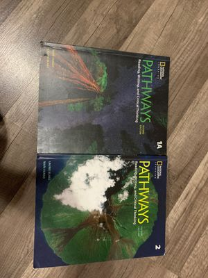 Pathways 1A and 2 second edition for Sale in Richmond, CA