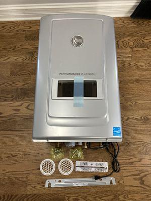 NEW Rheem RUTGH-RH10DVLN 9.9 GPM Natural Gas Tankless Water Heater 180,000 BTU for Sale in Libertyville, IL