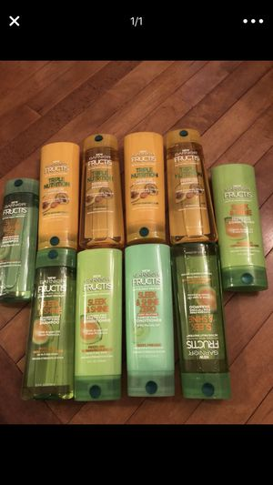 Garnier fructis shampoo & conditioner for Sale in West Springfield, VA
