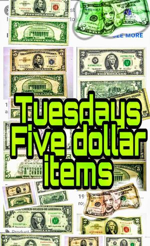 Five dollar items sale for Sale in Newark, OH