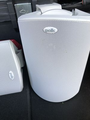 Polk Audio Atrium4 All-weather indoor/outdoor speakers (White) for Sale in Prospect Heights, IL
