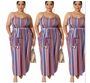 Multi Color stripe dress Plus size for Sale in Windermere, FL