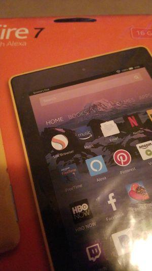 Amazon Fire 7 16GB w/Alexa TABLETS for Sale in Chicago, IL