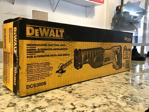 DeWalt DCS380B 20V Max Li-Ion Cordless Reciprocating Saw ✅🚨 BRAND NEW SEALED!!! 🚨✅ for Sale in Queens, NY