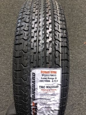 BRAND NEW ST 205 75 15 tires for only $85 each with FREE INSTALL!!! for Sale in Lakewood, WA
