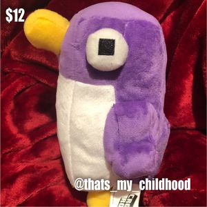 """Crossy Roads 6"""" purple penguin plush stuffed animal toy doll by Crossyroads for Sale in Phoenix, AZ"""