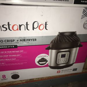 Instant Hot Pot Duo Crisp & Air fryer 8 Quart for Sale in Tracy, CA