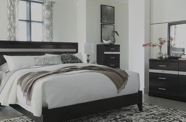 SPECIAL] Starberry Black Panel Bedroom Set by Ashley for Sale in Arlington,  VA