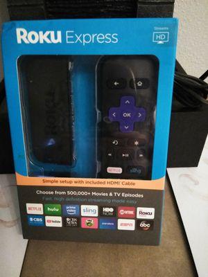 Brand new in box ROKU EXPRESS $45 for Sale in Scottsdale, AZ