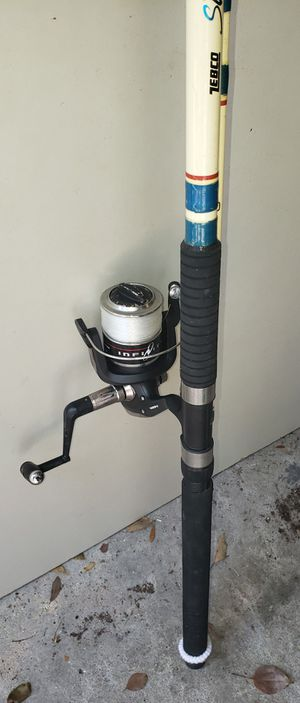 Med/heavy action surf style 10' spincast combo for Sale in Brandon, FL
