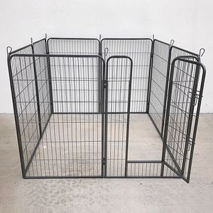 """(NEW) $125 Heavy Duty 48"""" Tall x 32"""" Wide x 8-Panel Pet Playpen Dog Crate Kennel Exercise Cage Fence for Sale in El Monte, CA"""