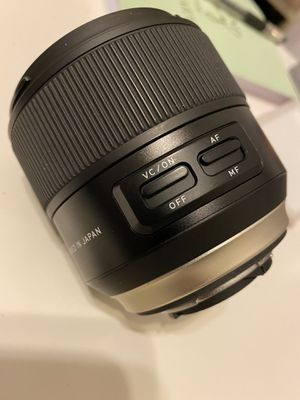 Tamron AFF012N-700 SP 35mm F/1.8 Di VC USD NIKON lense for Sale in Chicago, IL