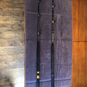 Chaos Rod ( Gold ) and BillFisher Rod for Sale in West Palm Beach, FL