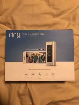 Ring Video Doorbell Pro for Sale in Stoughton, MA