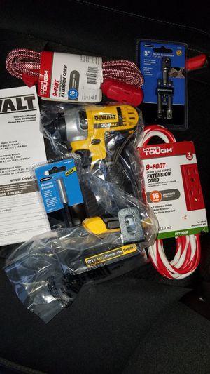 NEW Dewalt 20v MAX impact driver with battery for Sale in Brambleton, VA