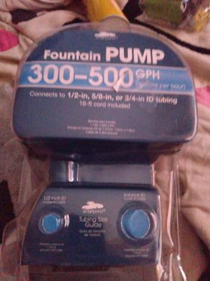 Smartpond water fountain pump for Sale in Henderson, NV