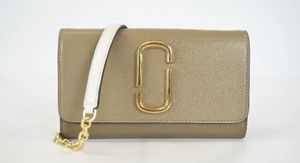 Marc Jacobs Snapshot Wallet Chain Crossbody Bag French Grey Multi Org $295 for Sale in West Covina, CA
