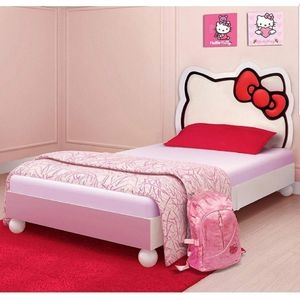 Twin Hello kitty bed with mattress for Sale in Goodyear, AZ