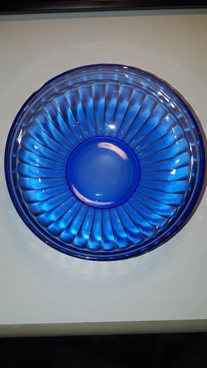 Antique ribbed blue glass bowls for Sale in La Mesa, CA