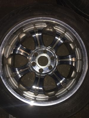 RIMS 10 x 20 for Chevy (4) for Sale in Hemet, CA