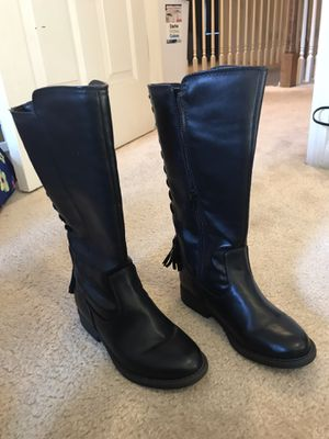 Brand New girls leather boots for Sale in Kansas City, MO
