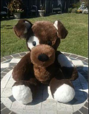 "Build-A-Bear 14"" Dark Brown Puppy Plush ""Fudge"" Stuffed Animal for Sale in San Leandro, CA"