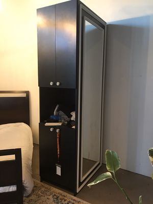 2 Salon quality cabinets with mirrors for Sale in Phoenix, AZ