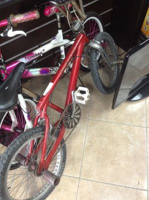 Vintage bmx style mongoose red bike for Sale in Miami, FL