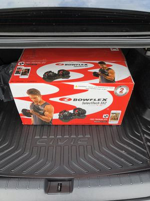 Bowflex 552 dumbbell 5-50lbs NEW for Sale in Wood Dale, IL