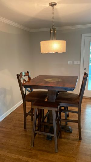 Bar height dining table and chairs for Sale in Virginia Beach, VA