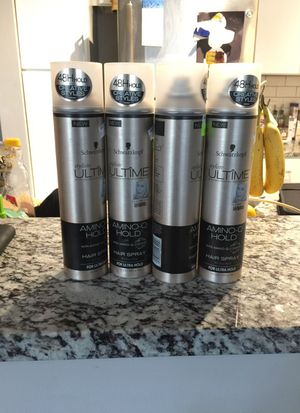 Schwarzkopf hair spray for Sale in Chapel Hill, NC