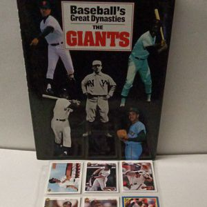 Sf Giants Baseball Cards And Book Christmas Gift Idea for Sale in Sacramento, CA